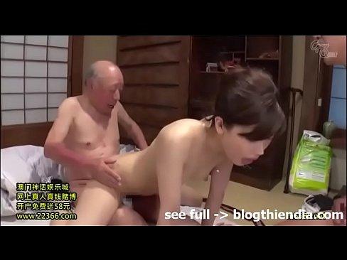 (羽田璃子)「お前ら何ヤッてんだあぁ…」介護を必要とする爺さんな義パパとのSEXに嵌り、ダンナに見つかっても腰ふりが止められないドS婦人(えろムービー)