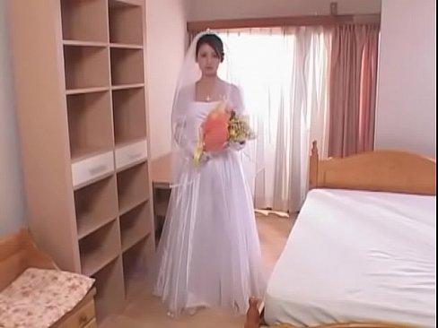 (北原多香子)ウェディングドレス姿の美巨乳イモウトと近親ソウカン☆☆(えろムービー)