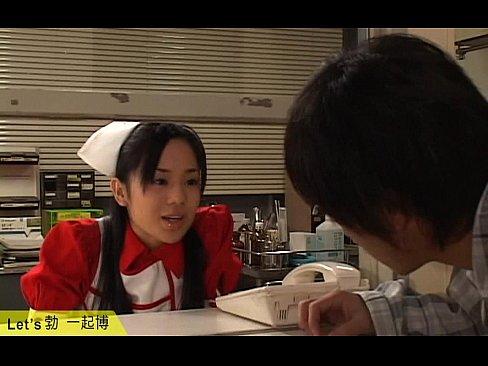 (蒼井そら)こんなにカワイいナァス服でフェラチオしてくれるモデルがいる病院はどこですかぁ☆☆(えろムービー)