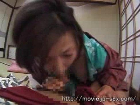 きじょう位で乱れるヘンタイ人妻との濃密な和室での着物着衣SEX☆(えろムービー)