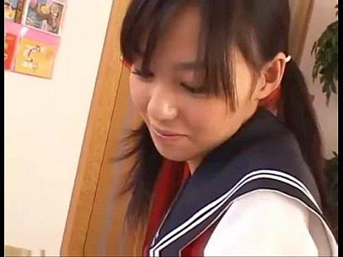 制服コスがマジで可愛すぎな希志あいのを見てシコリまくりです!【エロ動画】