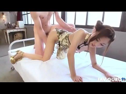 ナカ出し堀口真希 チャイナ服のオネエさんとハメドリナカ出しsex(えろムービー)