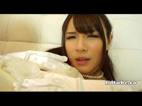 ドレスの花ヨメのKISSムービー。花ヨメドレスを着た極モデルと甘いディープKISS☆ – 1(えろムービー)